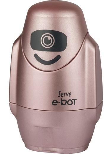 Serve E-Bot Sılgılı Kalemtıras Metalık Roze Teklı Renkli